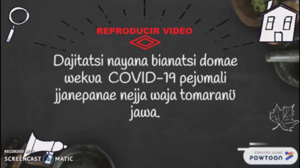 covid video Sikuani