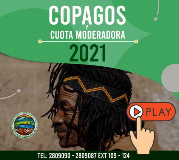 contributivo copagos 2021