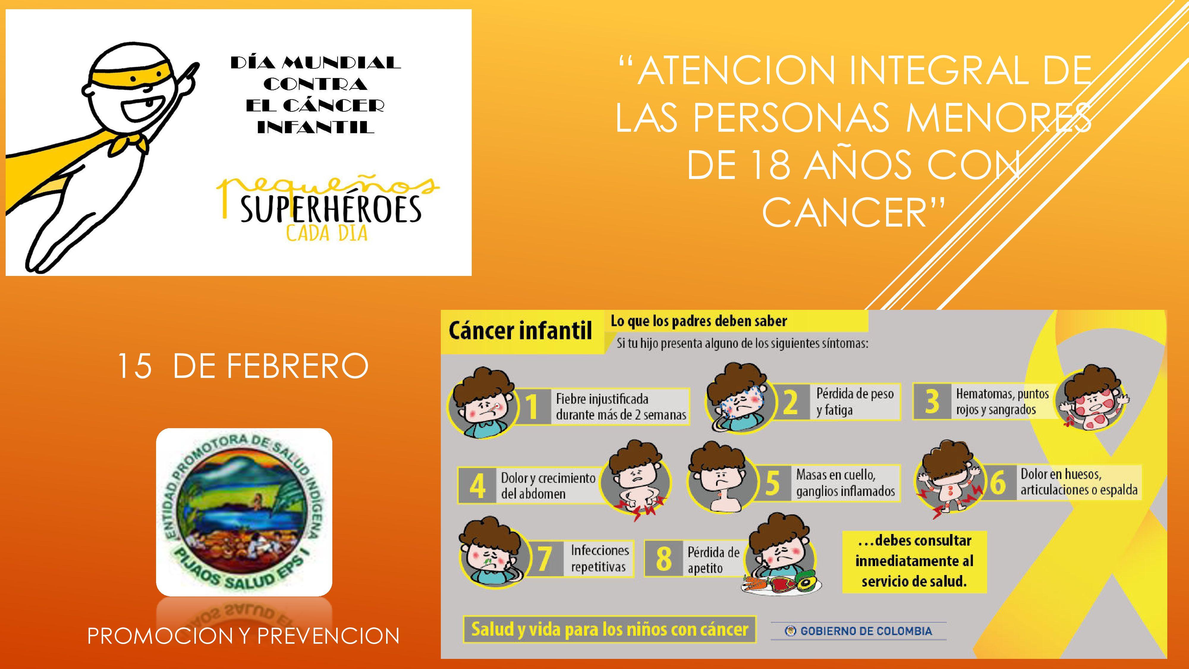 CELEBRACION CANCER INFANTIL 2021
